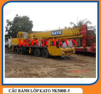 XE CẦN CẨU BÁNH LỐP KATO NK500B-5